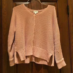 LUCKY Brand Blush Pink Sweater